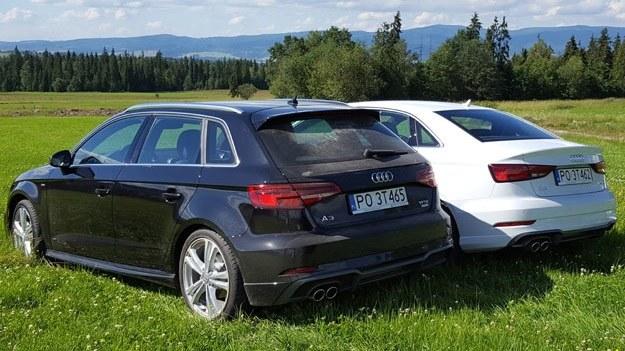 Audi A3 Sportback i Limousine /INTERIA.PL