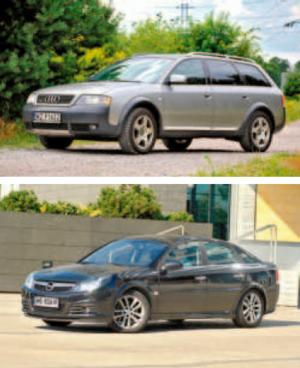 Audi A6 Allroad i Opel Vectra C potrafią być bardzo drogie w utrzymaniu /Auto Moto