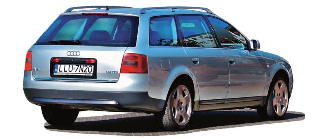 AUDI A6 C5 (1997-2004), polecane wersje: 1.9 TDI, 1.8 T. /Motor