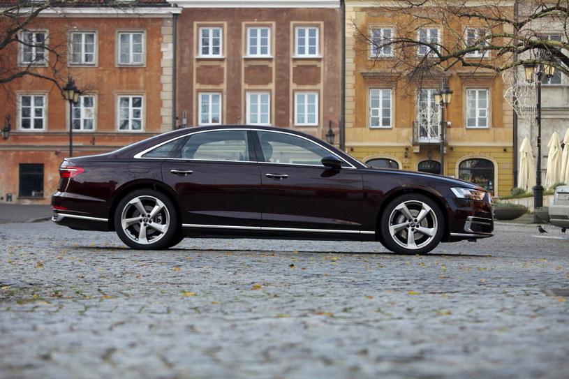 Audi A8 /INTERIA.PL