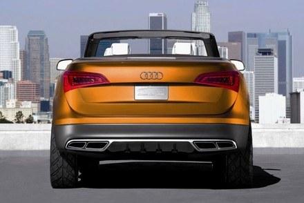 Audi cross cabriolet quattro / Kliknij /INTERIA.PL