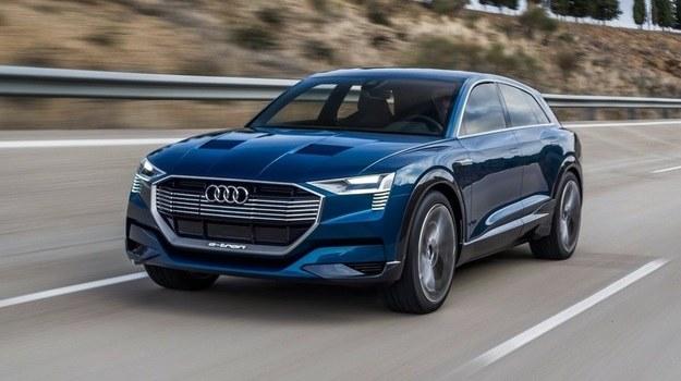 Audi e-tron quattro Concept /Audi
