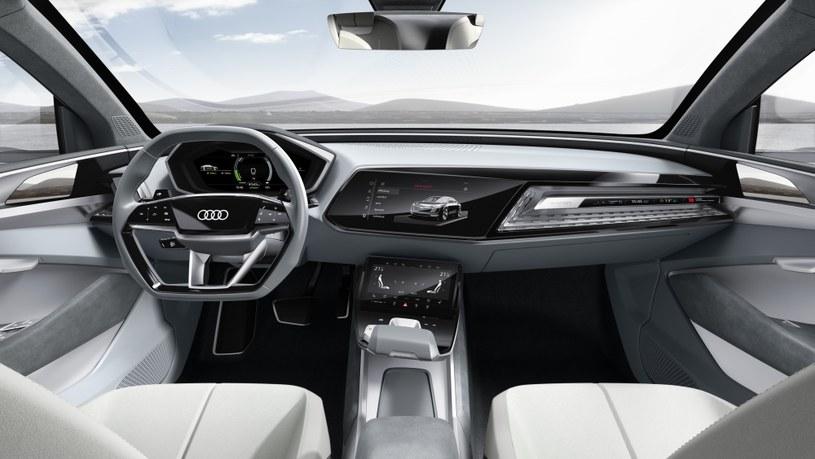 Audi e-tron Sportback - wnętrze /INTERIA.PL/informacje prasowe