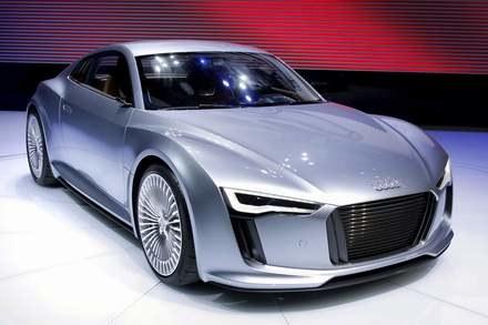 Audi e-tron /AFP