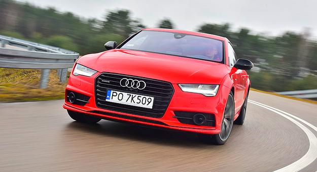 Audi prowadzi się rewelacyjnie – jakby ważyło co najmniej o 1/3 mniej niż w rzeczywistości. /Motor