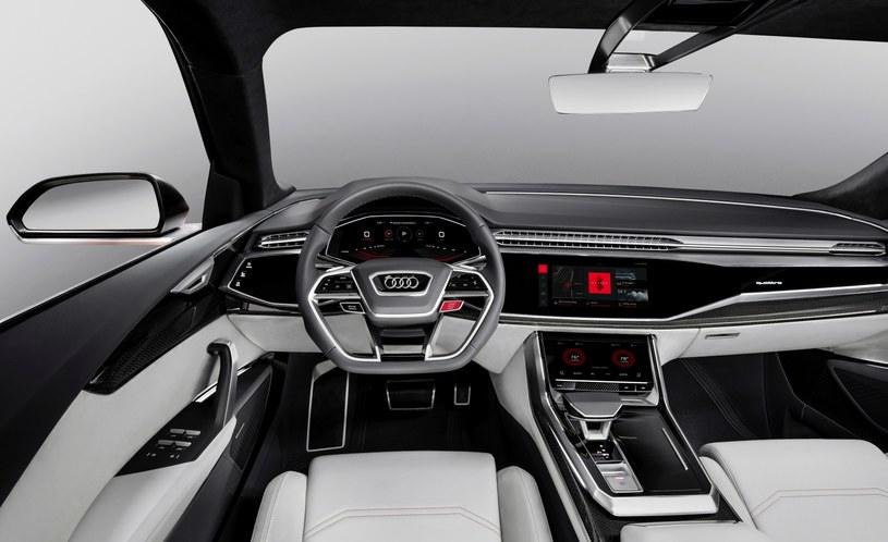 Audi Q8 sport concept ma na stałe zainstalowany system Android /INTERIA.PL/informacje prasowe