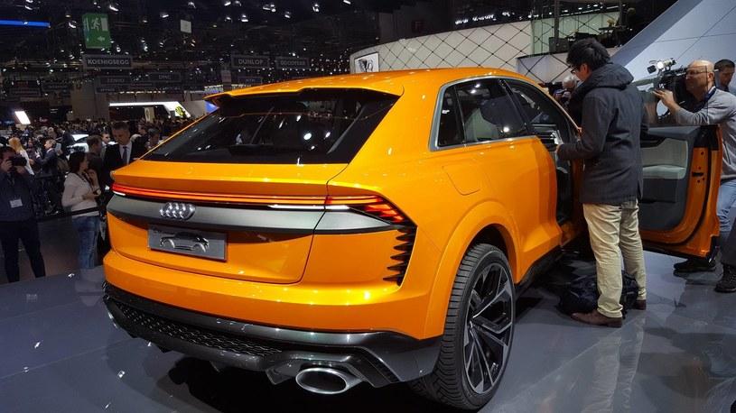 Audi Q8 sport concept /INTERIA.PL