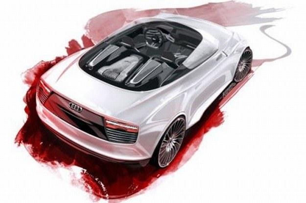 Audi R4 e-tron spyder /