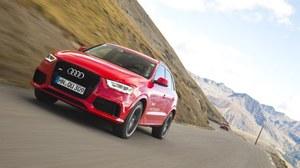 Audi RS Q3 - pierwsza jazda