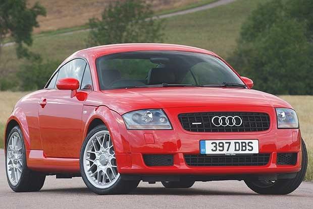 Audi TT Coupe 3.2 quattro (kliknij) /INTERIA.PL