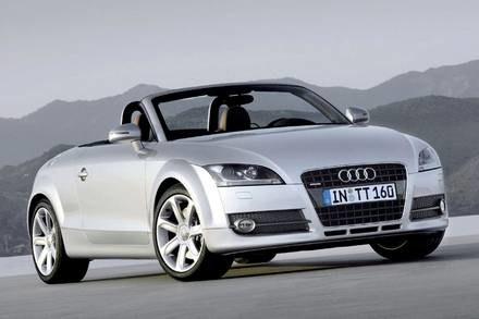 Audi TT roadster / Kliknij /INTERIA.PL