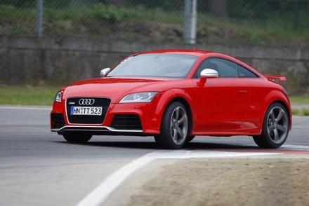 Audi TT RS coupe na torze Zolder /