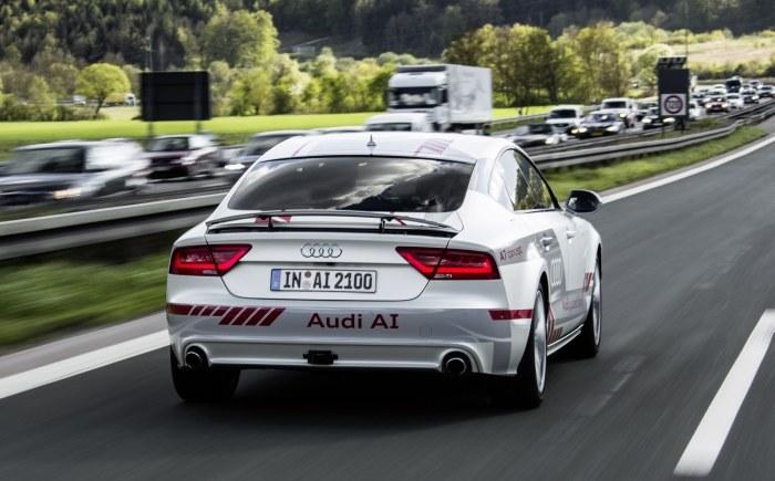 Audi zaangażowane jest w sześć projektów mających na celu rozwój autonomicznej jazdy /INTERIA.PL/informacje prasowe