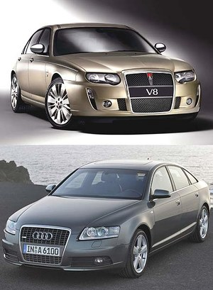 Audi zaskarży Rovera!