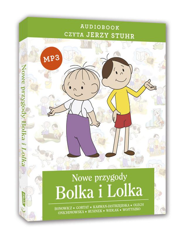 """Audiobook """"Nowe przygody Bolka i Lolka"""" (Wydawnictwo Znak) /"""