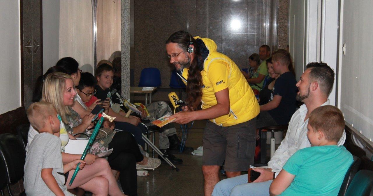 Audiobook o Panu Kuleczce dostali pacjenci z GCZD w Katowicach