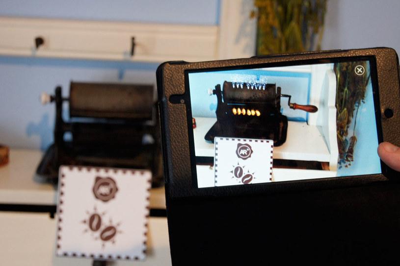 Audioprzewodnik aplikacja NFC Augmented Reality /materiały prasowe
