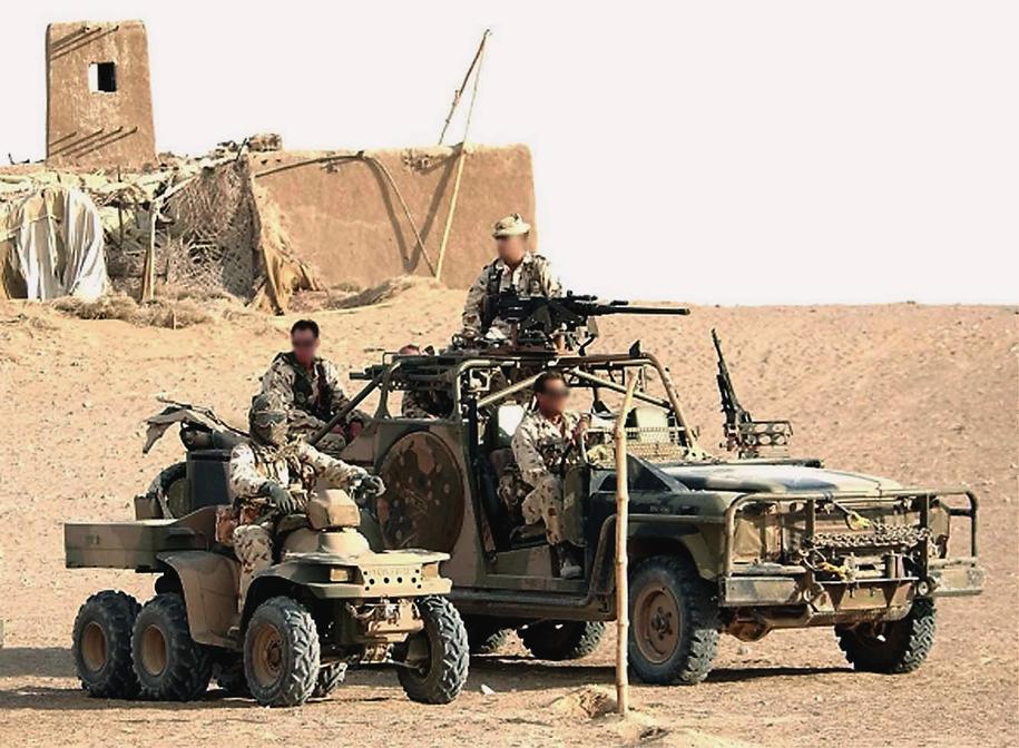 Australia jako bliski sojusznik USA od 17 lat wysyła swoje wojska do Afganistanu /AUSTRALIAN DEFENCE FORCES /PAP/EPA