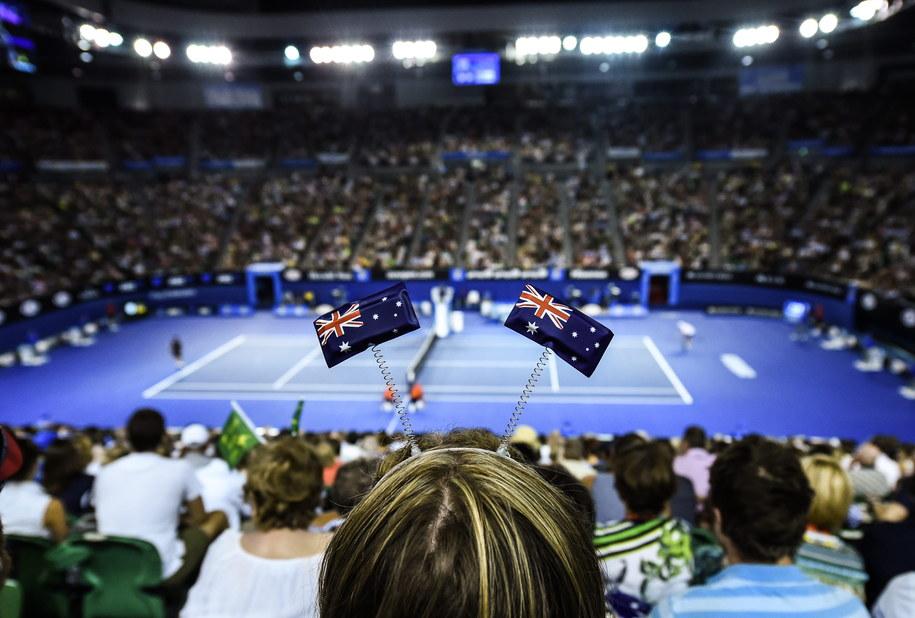 Australijscy kibice na trybunach (zdj. ilustracyjne) //FILIP SINGER /PAP/EPA