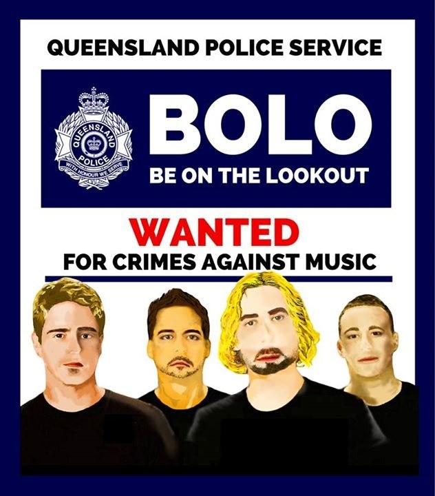 """Australijska policja poszukiwała Nickelback za """"zbrodnie przeciwko muzyce"""" /"""