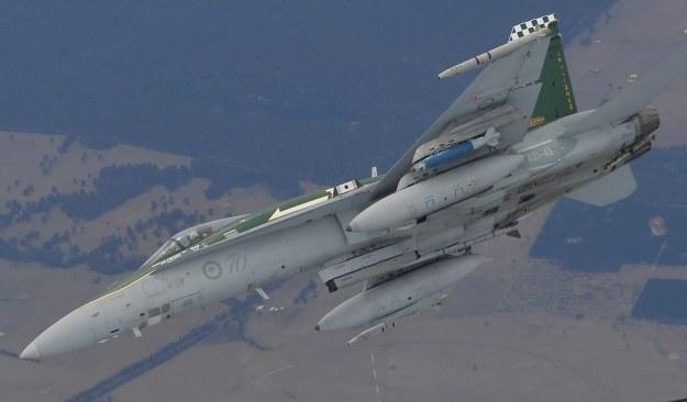 Australijski F-18 /AFP