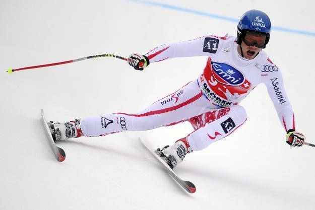Austriacki narciarz Michael Walchhofer /AFP