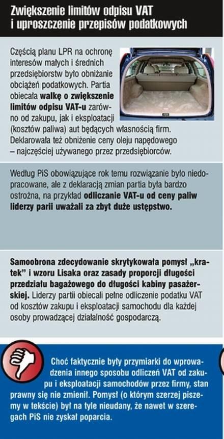 """Auta firmowe / Kliknij /tygodnik """"Motor"""""""