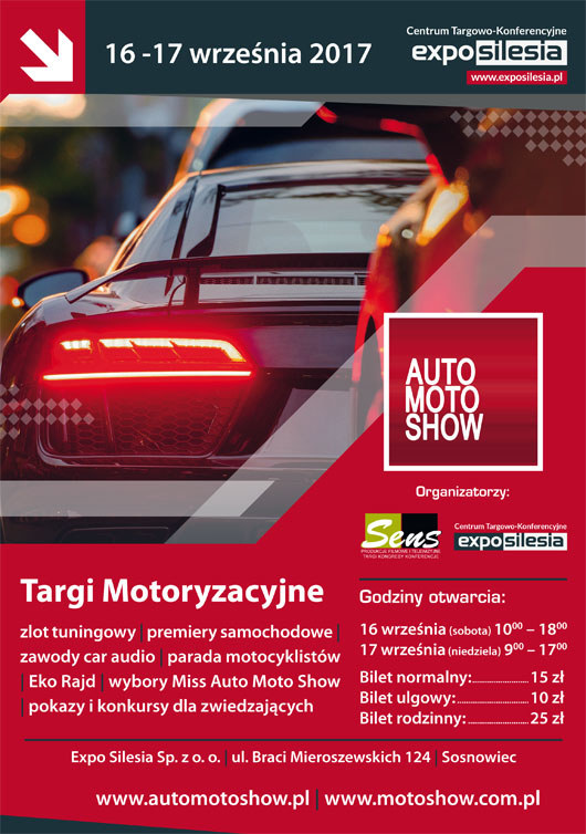 Auto Moto Show plakat /Auto moto show /