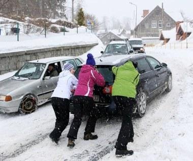 Auto w zimie. Chemicy mają lepiej