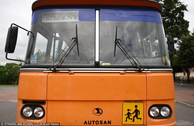 Autobus szkolny; zdj. ilustracyjne /Stanisław Kowalczuk /East News