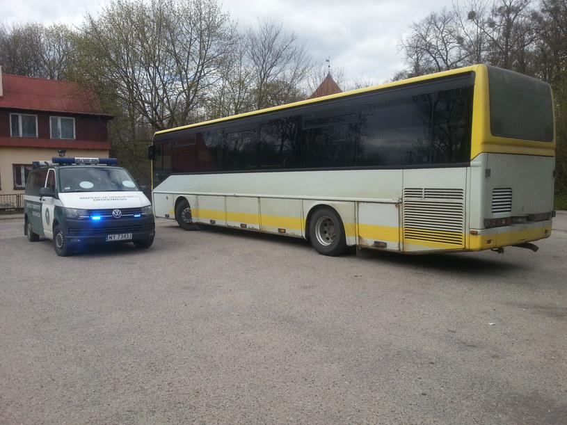 Autobus znajdował się w fatalnym stanie technicznym /ITD