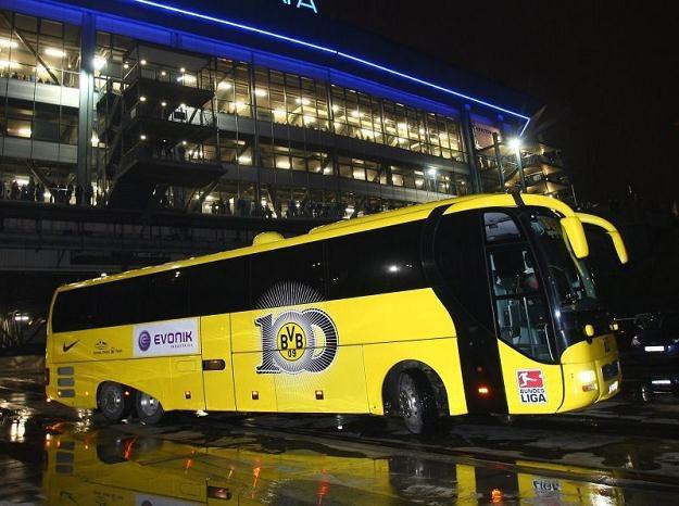 Autokar Borussii Dortmund pędzil za szybko. Kierowca musiał zapłacić mandat /Getty Images/Flash Press Media