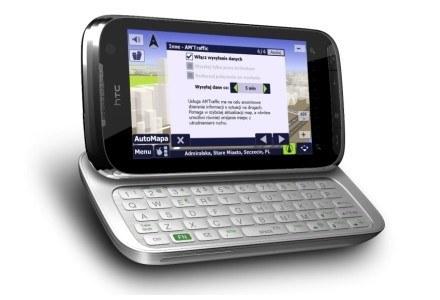 AutoMapa na telefonie HTC /materiały prasowe
