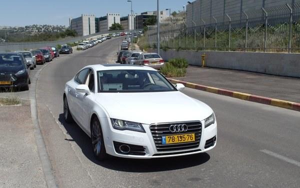 Autonomiczne Audi A7 /Fot. NYTimes /materiały prasowe