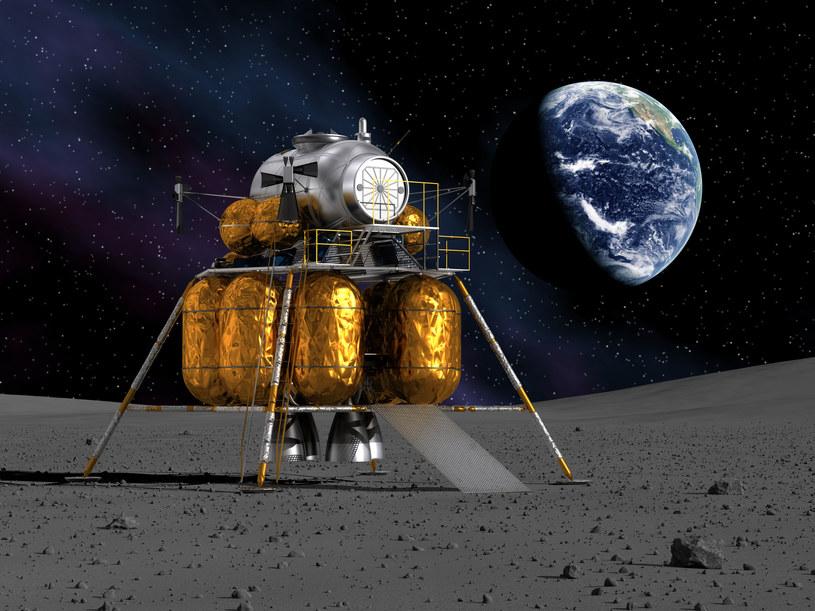 Autonomiczne maszyny budowlane mają zostać użyte na Księżycu i Marsie /123RF/PICSEL
