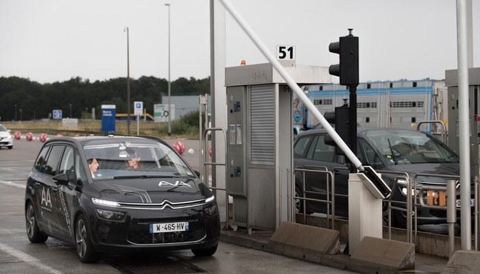 Autonomiczny Citroën C4 Picasso /INTERIA.PL/informacje prasowe