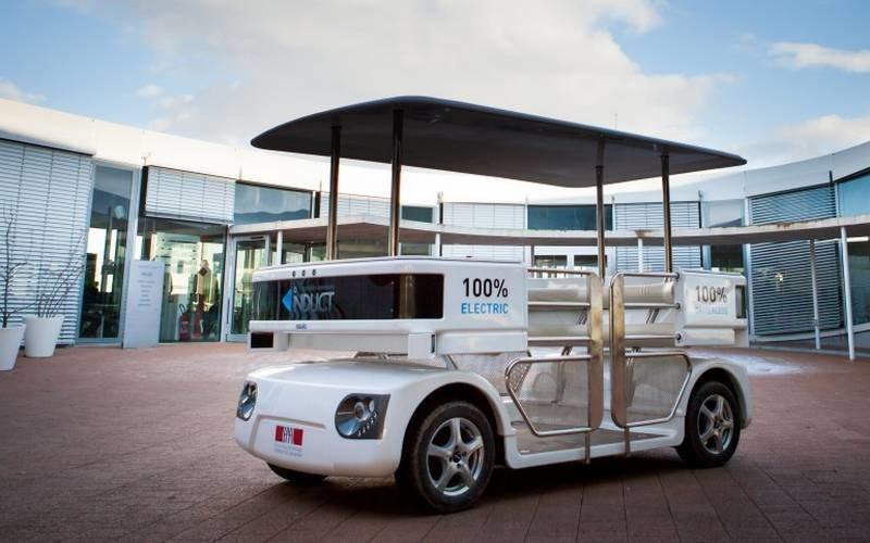 Autonomiczny pojazd Navia /materiały prasowe