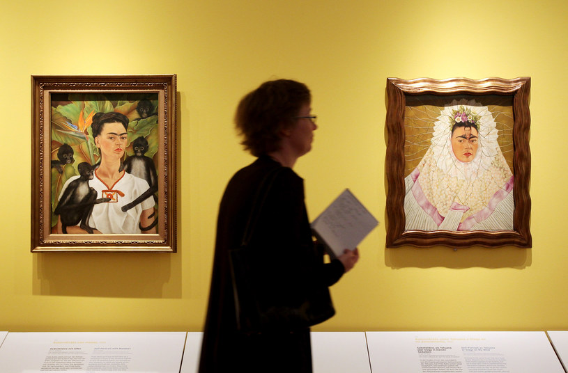 Autoportrety Fridy Kahlo /Getty Images