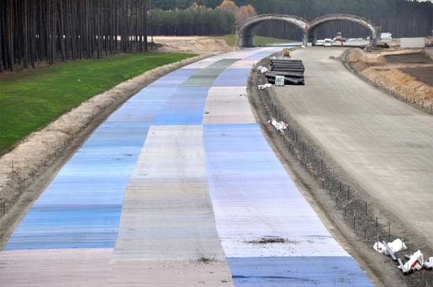 Autostrada A2 w okolicach  Rogozińca. Fot. AW /