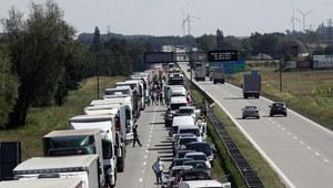 Autostrada A4 zablokowana po wypadku