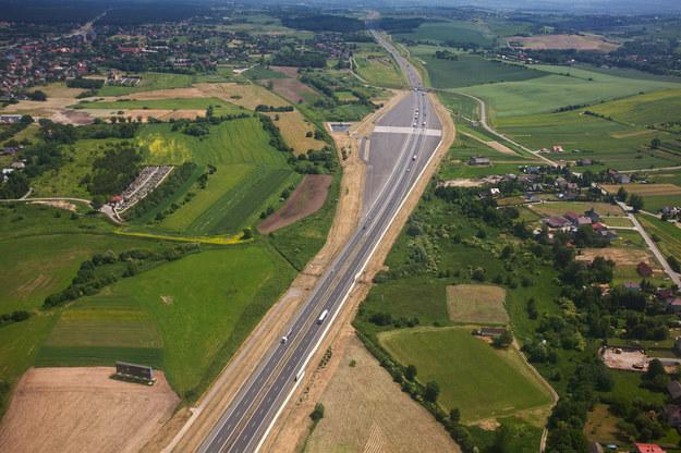 Autostrada A4; zdj. ilustracyjne /Robert Pipala /Agencja FORUM