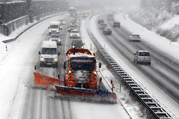 Autostrada koło Monachium /AFP