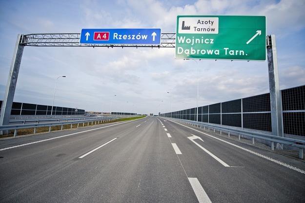 Autostrada kończy się w Tarnowie i na tym polega problem / Fot: Piotr Tracz /Reporter