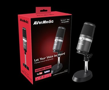 Avermedia AM310 - test mikrofonu