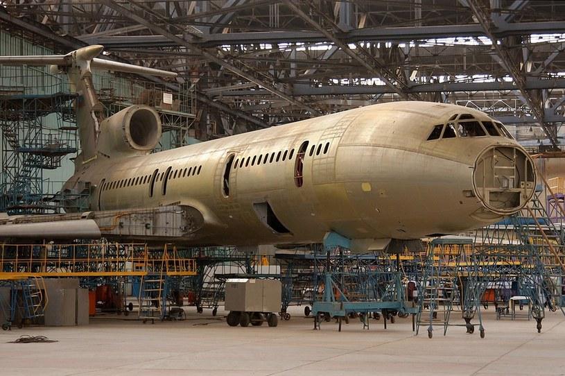 Aviakor w Samarze, gdzie remontowano Tu-154M /Laski Diffusion /East News
