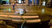 Awaria wodociągu na warszawskiej Ochocie