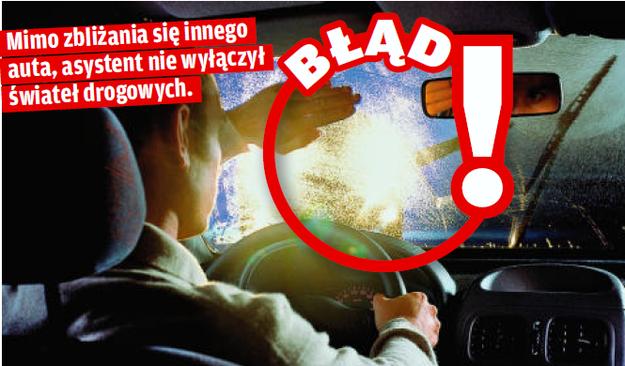 Aystent świateł drogowych /Motor