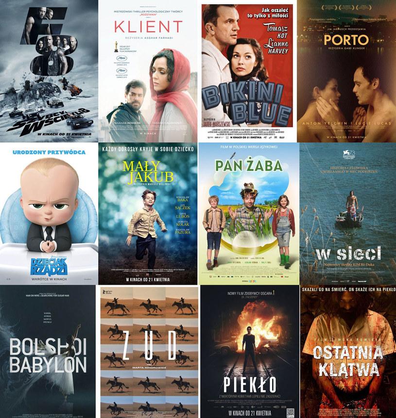 Aż 12 premierowych tytułów trafia w piątek na ekrany polskich kin /materiały dystrybutora