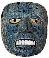Aztecka maska Quetzalcoatla /Encyklopedia Internautica