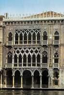 Ażurowa fasada Złotego Domu w Wenecji /Encyklopedia Internautica